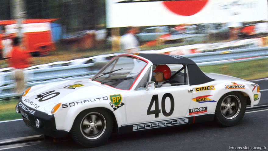 24 heures du Mans 1970 - Porsche 914/6 GT #40 - Pilotes : Claude Ballot-Léna / Guy Chasseuil - 6ème