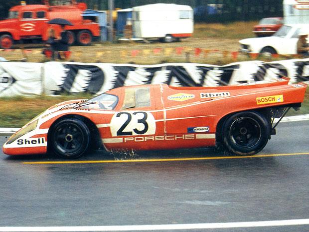 24 heures du Mans 1970 - Porsche 917 #23 - Pilotes : Hans Herrmann / Richard Attwood- 1er