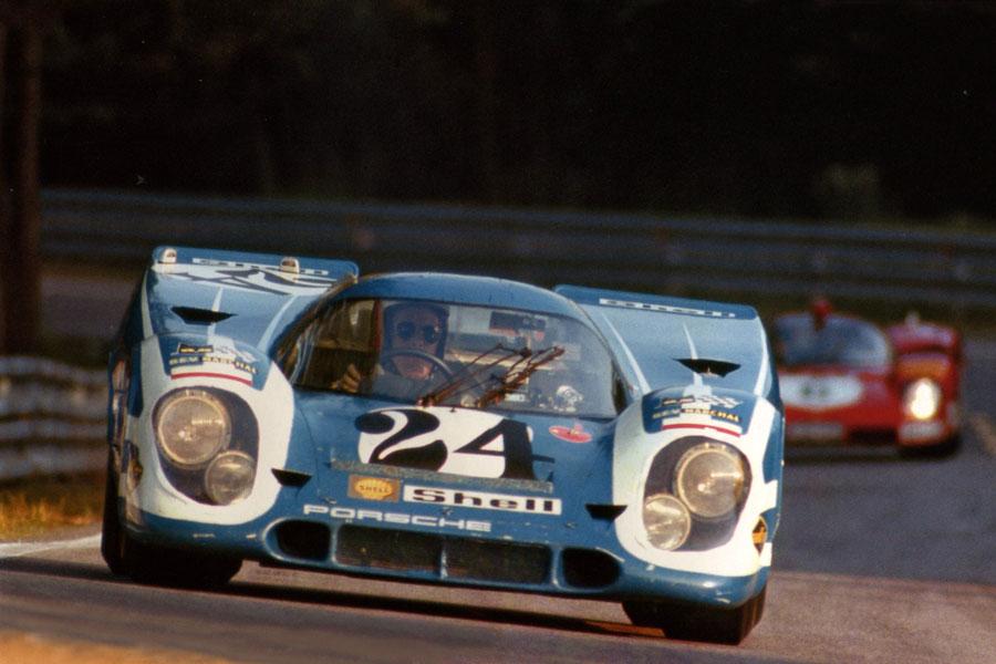 24 heures du Mans 1970 - Porsche 917K #24 - Pilotes : Rico Steineman / Dieter Spoerry - Non partante