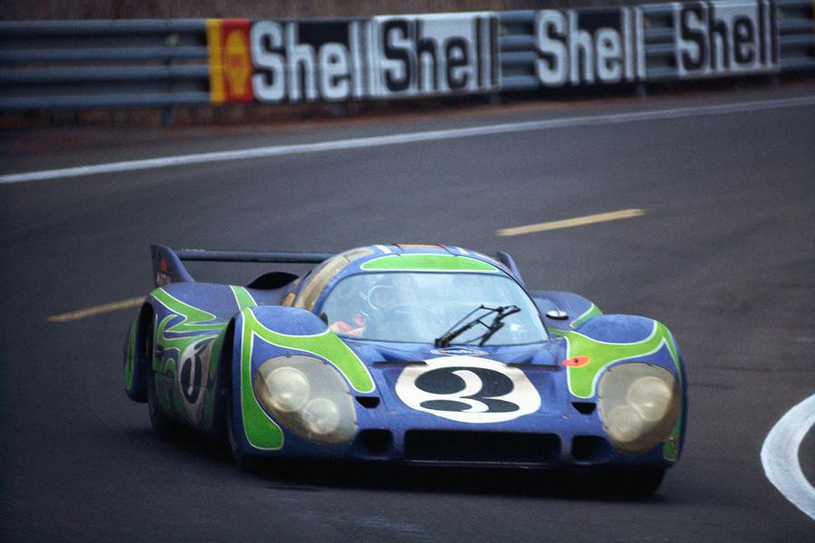 24 heures du Mans 1970 - Porsche 917L #3 - Gerard Larousse / Willy Kauhsen - 2ème