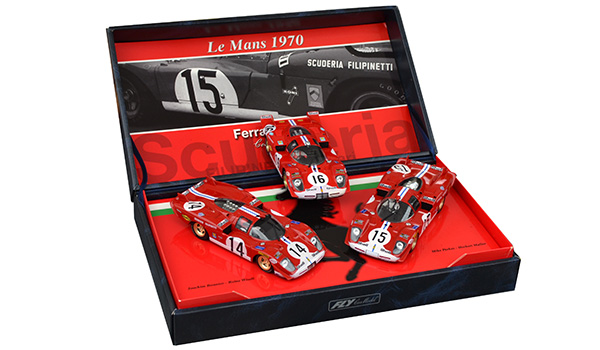 Coffret Fly Historical Teams, Ferrari Filipinetti 24H Le Mans 1970