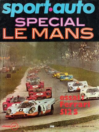 Sport Auto spécial 24 heures du Mans1970