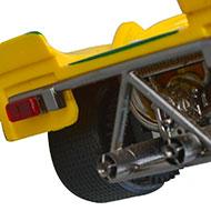 Porsche 908 Fly C42 - Détails des feux arrière et des échappements