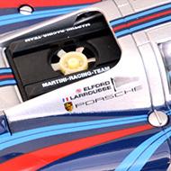 Porsche 917 Fly C88191 - Détails de la décoration et de la turbine de refroidissement