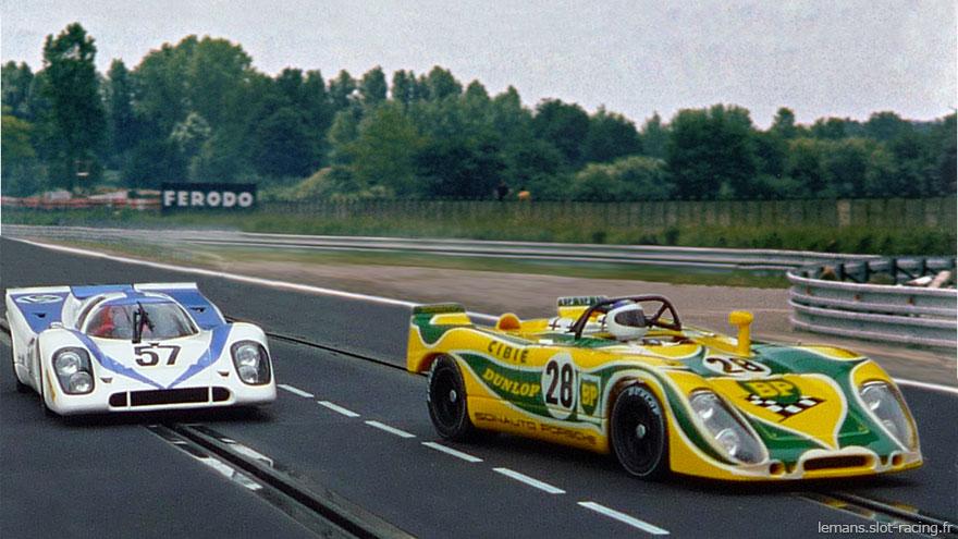 24 heures du Mans 1971 - Porsche 908 #28 - Pilotes : Claude Ballot Léna / Guy Chasseuil- Abandon