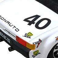 Porsche 914/6 GT - Détails de la face arrière