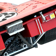 Porsche 917-20 Le Mans Miniatures - Détails de la face arrière