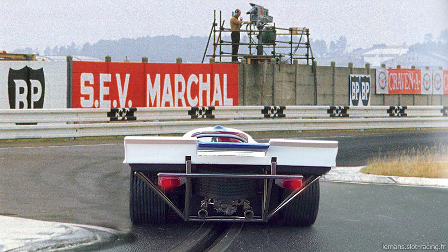 24 heures du Mans 1971 - Porsche 917K #57 - Pilotes : Dominique Martin / Gérard Pillon - Abandon
