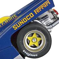 Ferrari 512M Spirit - Détails des roues