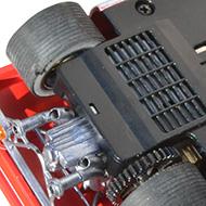 Ferrari 512F Spirit - Le moteur transversal