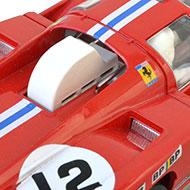 Ferrari 512M Spirit - Détails de la prise d'air