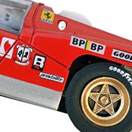 Ferrari 512M Spirit - Détails de la décoration
