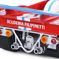 Ferrari 512F Spirit - Détails de la face arrrière