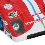 Ferrari 512F Spirit - Détails de la décoration