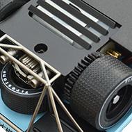 Porsche 917K Fly C52 - Le moteur transversal