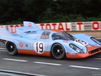 24 heures du Mans 1971 - Porsche 917K #19 - Pilotes : Herbert Müller / Richard Attwood - 2ème