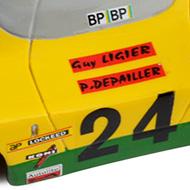 Ligier JS3 PSK - Détails de la décoration