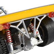 Ligier JS3 PSK - Détails de la face arrière