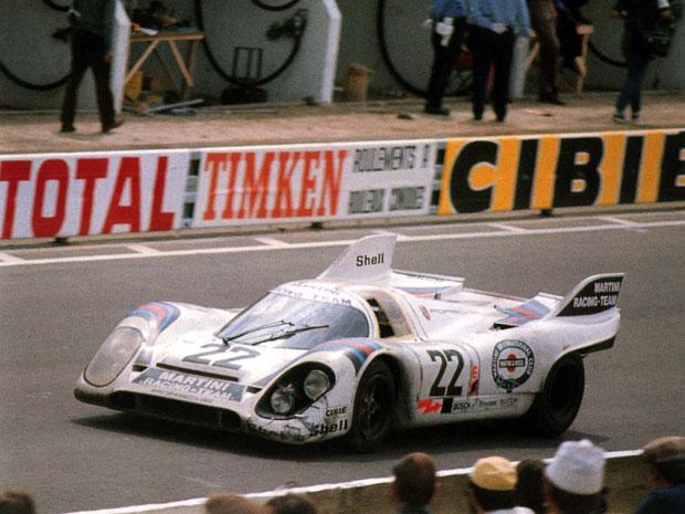 24 heures du Mans 1971 - Porsche 917 #22 - Pilotes : Helmut Marko / Gijs Van Lennep - 1er