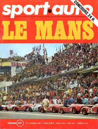 Sport Auto spécial 24 heures du Mans1971
