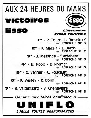 Victoire au Mans 1971