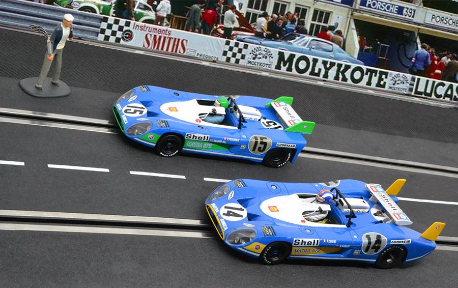 L'arrivée des 24 heures du Mans 1972 par Le Mans Miniatures