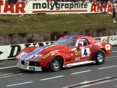 24 heures du Mans 1972 - Chevrolet-Corvette #4 - Pilotes : Dave Heinz / Bob Johnson - 15ème