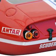 Ferrari 365 GTB4 FLY A0656 - Détail de la décoration arrière