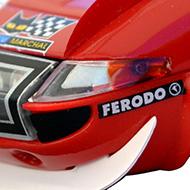 Ferrari 365 GTB4 FLY A0656 - Détail de la décoration avant