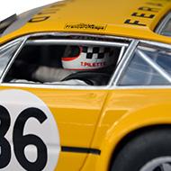 Ferrari 365 GTB4 FLY Team 014 - Détail du casque du pilote
