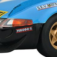 Ferrari 365 GTB4 FLY A0653 - Détail de la décoration avant