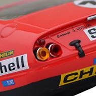 Ferrari 365 GTB4 FLY A0653 - Détail de la décoration arrière
