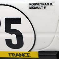 Ferrari 365 GTB4 FLY A0653 - Détail de la décoration