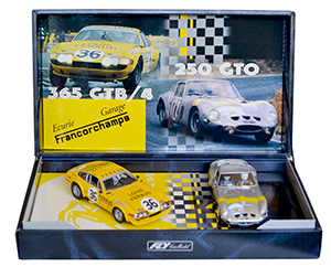 Coffret Fly Historical Teams, Ecurie Garage Francorchamps