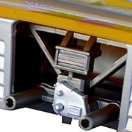 Lola T280 400207 Sloter - Détails de la face arrière