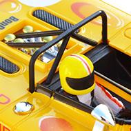 Lola T280 400204 Sloter - Le casque de Jo Bonnier