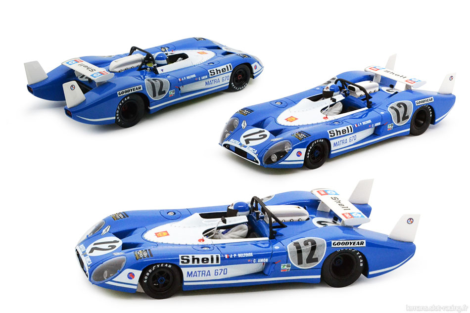 Matra 670 Le Mans Miniatures 132046/12M