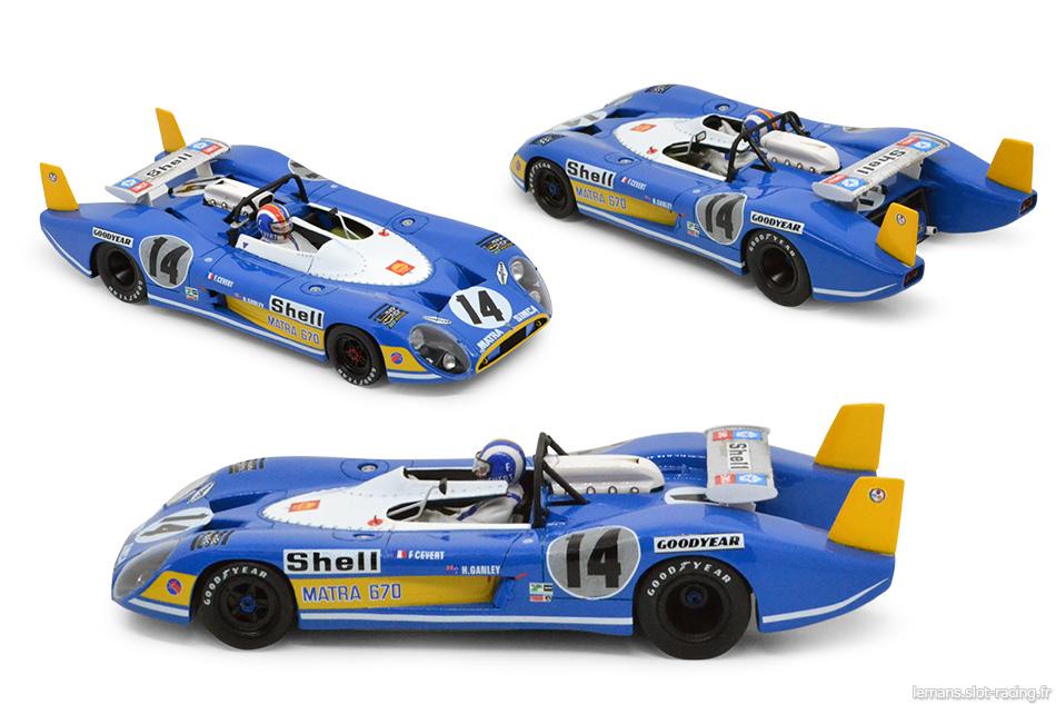 Matra 670 Le Mans Miniatures 132046/14M