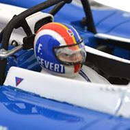 Matra 670 Le Mans Miniatures - Détails du casque de François Cevert