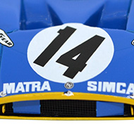 Matra 670 Le Mans Miniatures - Détails de la décoration