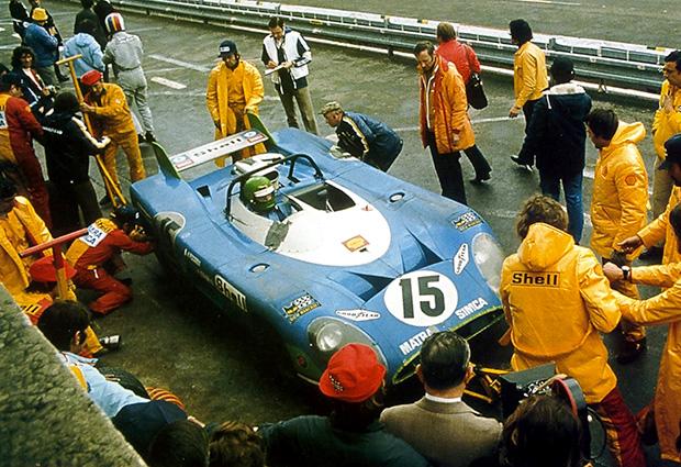 24 heures du Mans 1972 - Matra 670 #15 - Pilotes : Graham Hill / Henri Pescarolo - 1er