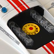 Porsche 907 SRC - Détails du moteur