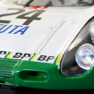 Porsche 907 SRC - Détails de la face avant