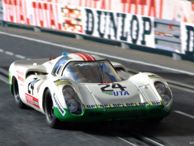 24 heures du Mans 1972 - Porsche 907 #24 - Pilotes : Peter Mattli / Herve Bayard / Walter Brun - 18ème