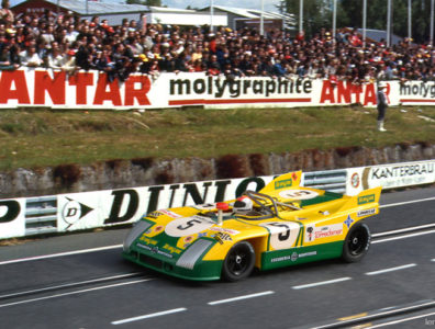 24 heures du Mans 1972 - Porsche 908/3 #5 - Pilotes : Juan Fernandez / Francesco Torredemer / Eugenio Baturone - Abandon