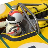 Porsche 908/3 Fly 88281 - Détail du pilote