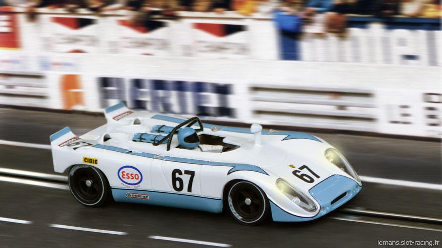 24 heures du Mans 1972 - Porsche 908 #67 - Pilotes : Christian Poirot / Philippe Farjon - Non classé