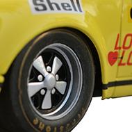 Porsche 911S Fly A901 - Détail des roues