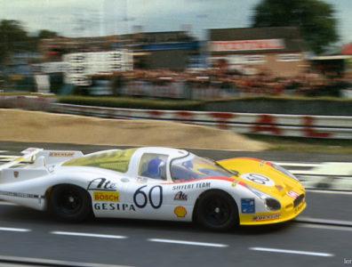 24 heures du Mans 1972 - Porsche 908 #60- Pilotes : Reinhold Joest / Mario Casoni / Michel Weber - 3ème