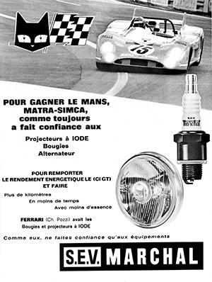Victoire au Mans 1972